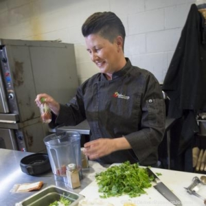 Heirloom Catering Founder and CEO Michelle Garcia